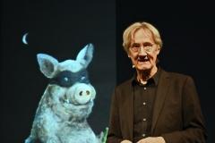Kabarettist und Moderator der Matinée Holger Paetz