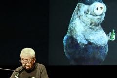 Der Schriftsteller und Kabarettist Helmut Eckl