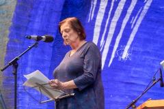 Maria Peschek beim Wort nehmen    → Foto: Herbert Becke