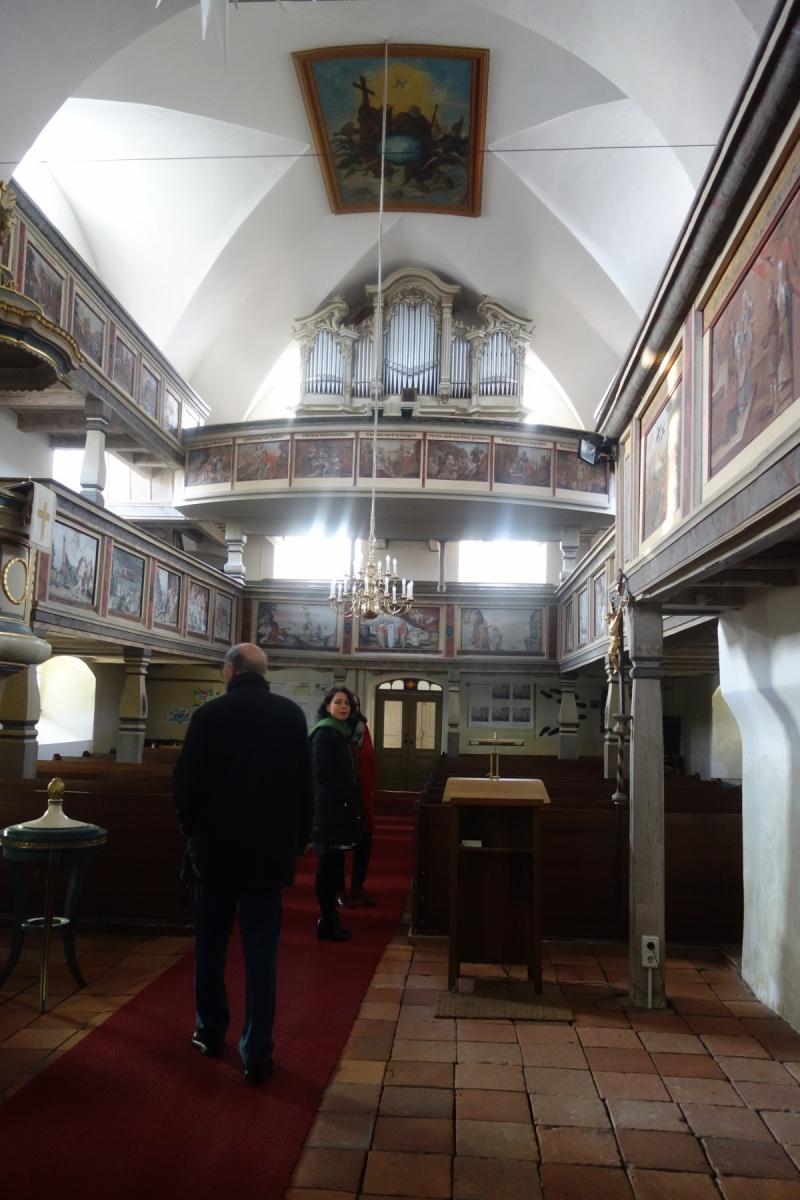 Kirche Mittelherwigsdorf von innen