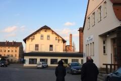"""Auf dem Weg zum ehemaligen Gasthof """"Augustin"""" am Zittauer Vorstadtbahnhof vorbei"""